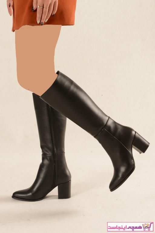 خرید پستی چکمه جدید برند Nil Shoes رنگ مشکی کد ty52279866