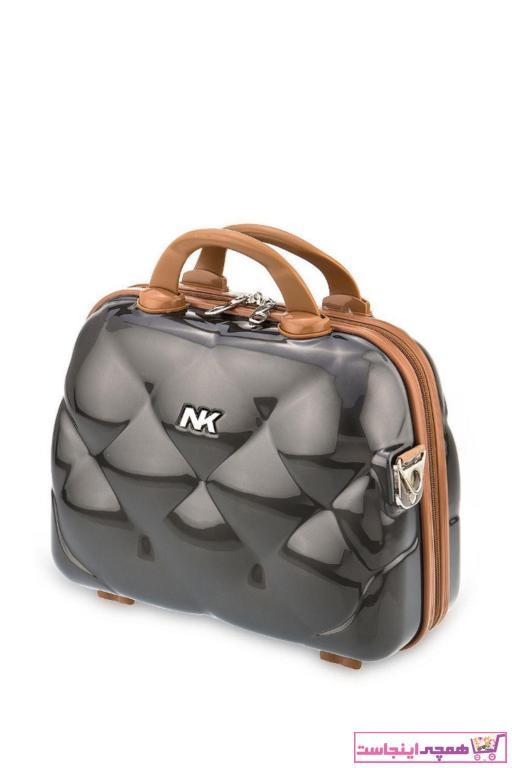 خرید پستی کیف لوازم آرایش اصل زنانه برند NK رنگ نقره ای کد ty52281679