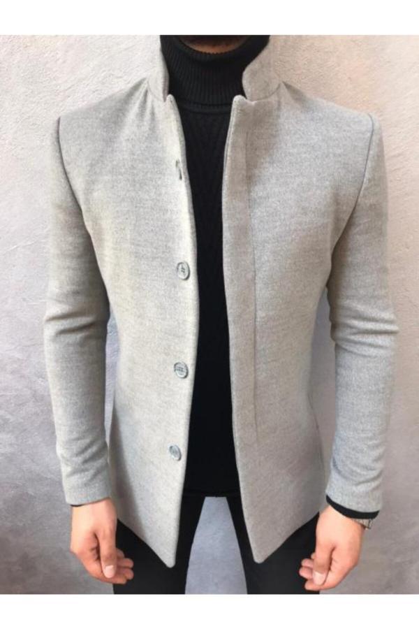 خرید ارزان پالتو فانتزی مردانه برند Bycool Fashion رنگ نقره ای کد ty52282133