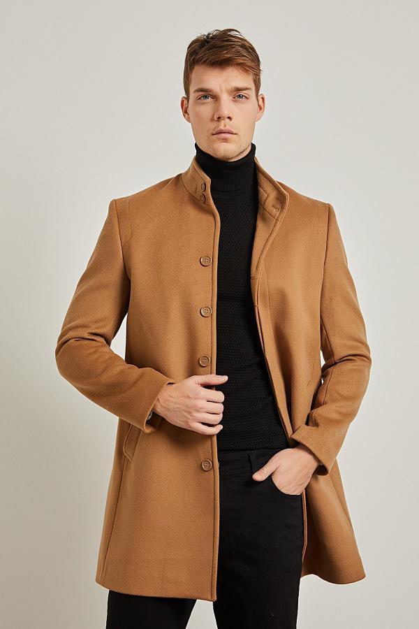 فروش پستی ست پالتو مردانه برند PAULMARK رنگ قهوه ای کد ty52301561