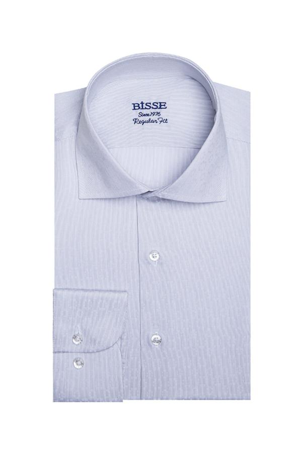 پیراهن اسپرت مردانه سال ۹۹ Bisse رنگ نقره ای کد ty52313133