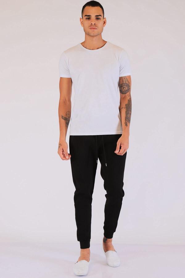 سفارش اسلش مردانه ارزان برند Twister Jeans رنگ مشکی کد ty52322400