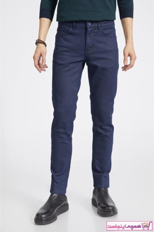 شلوار جین مردانه کوتاه برند آوا رنگ لاجوردی کد ty52327727