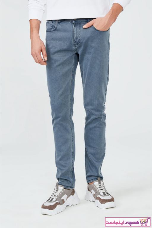 شلوار جین مردانه اسپرت جدید برند آوا رنگ آبی کد ty52327764