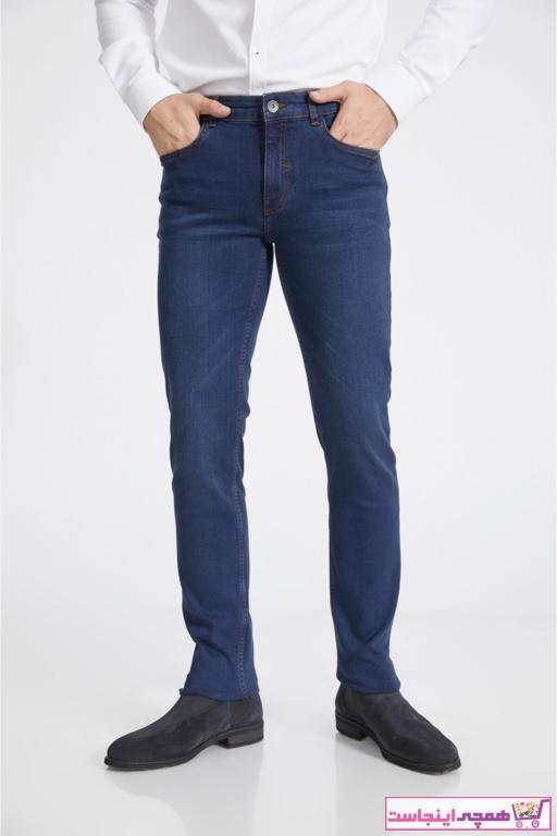 شلوار جین مردانه ترکیه برند آوا رنگ لاجوردی کد ty52327767