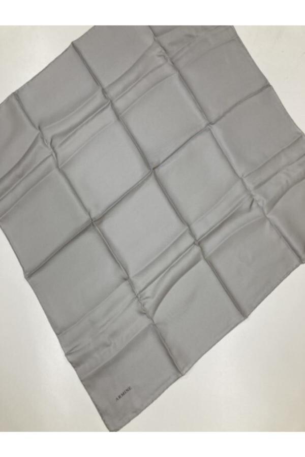 روسری اورجینال برند Armine رنگ نقره ای کد ty52335548