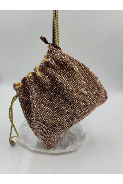 کیف مجلسی زمستانی زنانه برند Matthew Cox رنگ طلایی ty52375548