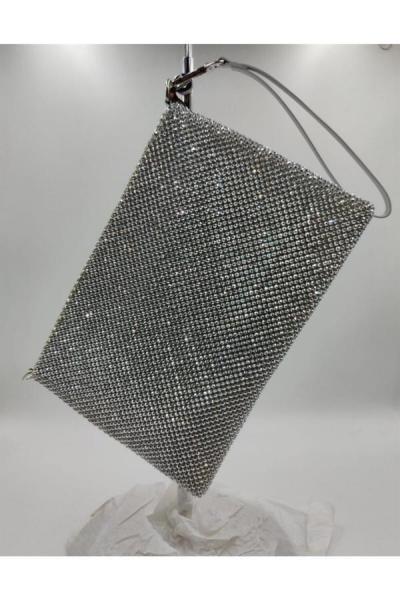 سفارش کیف مجلسی زمستانی زنانه برند Matthew Cox رنگ نقره کد ty52375599