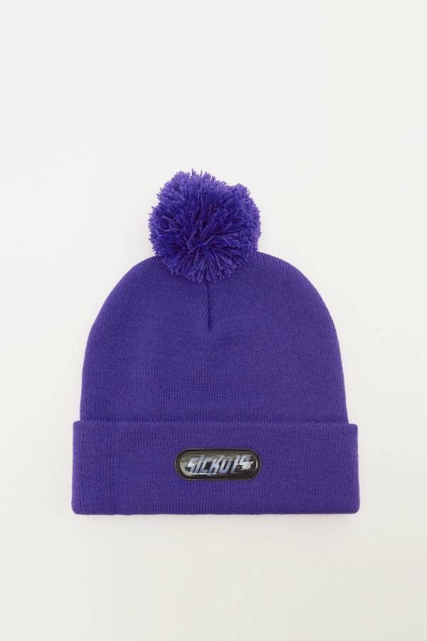 کلاه خاص مردانه برند Pull & Bear رنگ بنفش کد ty52405412