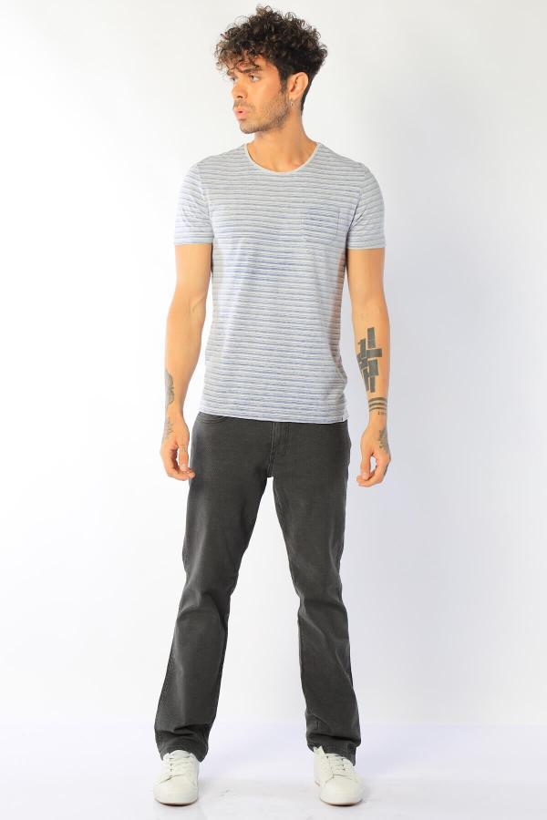 فروش شلوار مردانه فانتزی برند Twister رنگ نقره ای کد ty52434637