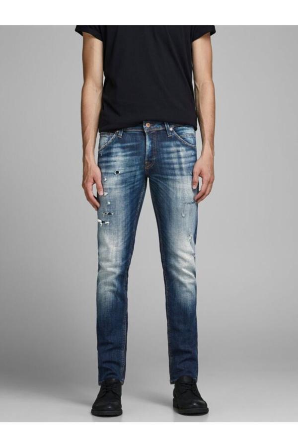 شلوار جین مردانه قیمت مارک جک اند جونز رنگ لاجوردی کد ty52443150