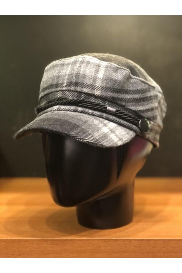 خرید کلاه زنانه اصل مجلسی برند Şapkacımadam رنگ نقره ای کد ty52493855