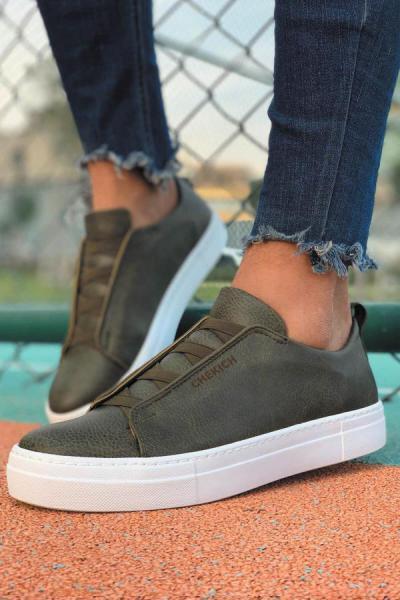 کفش مخصوص دویدن مردانه شیک برند Trendypazar رنگ خاکی کد ty52494046