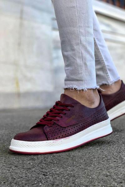 خرید پستی کفش مخصوص دویدن مردانه برند Trendypazar رنگ زرشکی ty52494091