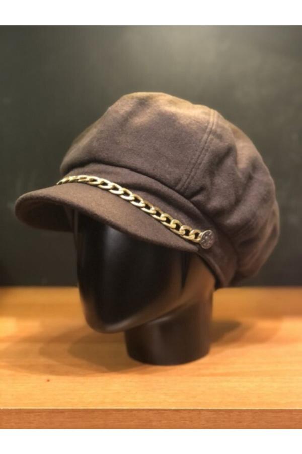 کلاه زنانه برند Şapkacımadam رنگ قهوه ای کد ty52494260