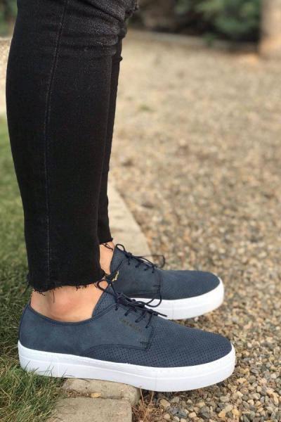 خرید انلاین کفش مخصوص دویدن جدید مردانه شیک برند Trendypazar رنگ لاجوردی کد ty52494641