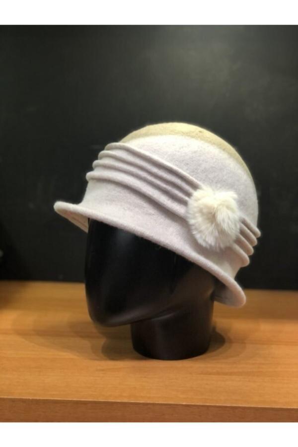 کلاه اصل زنانه برند Şapkacımadam رنگ بژ کد ty52500764