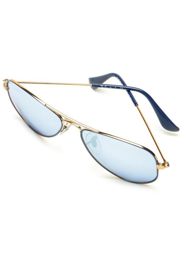 خرید عینک آفتابی زنانه شیک مجلسی برند Ray-Ban Junior رنگ آبی کد ty52525097