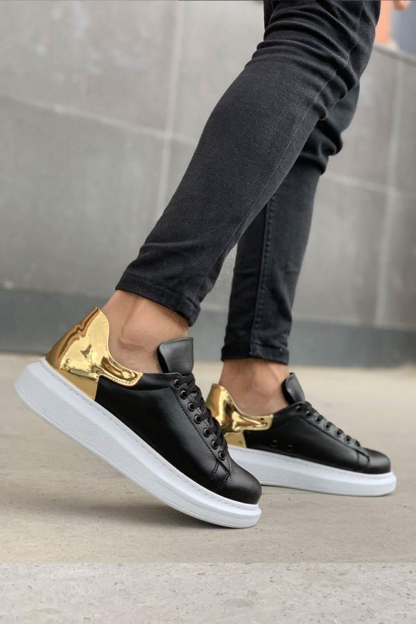 فروش کفش مخصوص دویدن مردانه ترک مجلسی برند Trendypazar رنگ مشکی کد ty52528675
