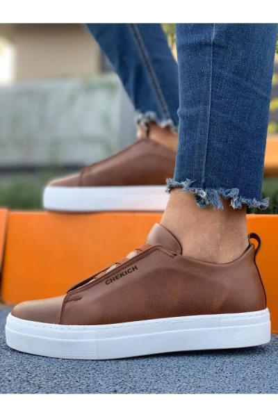 فروش کفش مخصوص دویدن مردانه شیک و جدید برند Trendypazar رنگ قهوه ای کد ty52538011