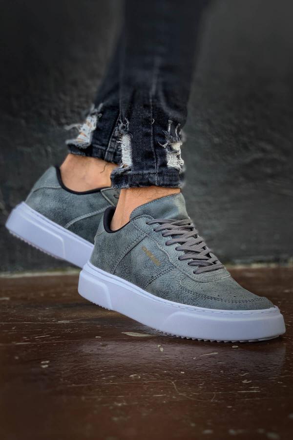 کفش مخصوص دویدن خاص مردانه برند Trendypazar رنگ نقره ای کد ty52538415