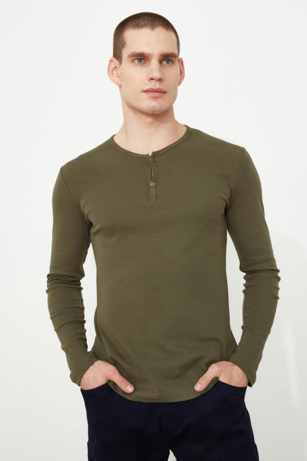 قیمت تیشرت مردانه برند ترندیول مرد رنگ سبز کد ty52552218