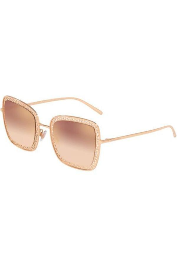 عینک آفتابی طرح دار برند دولچه گابانا رنگ صورتی ty52566390