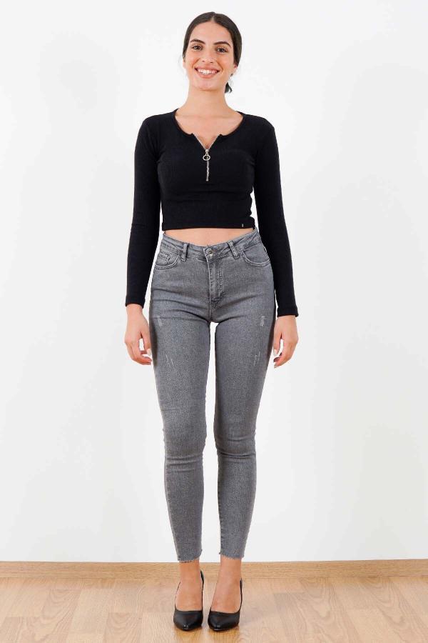 شلوار جین مردانه تابستانی برند Fashion Friends رنگ مشکی کد ty52575982