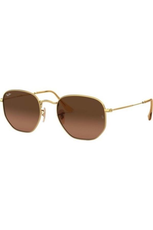 فروشگاه عینک آفتابی اورجینال برند ری بن رنگ قهوه ای کد ty52578127
