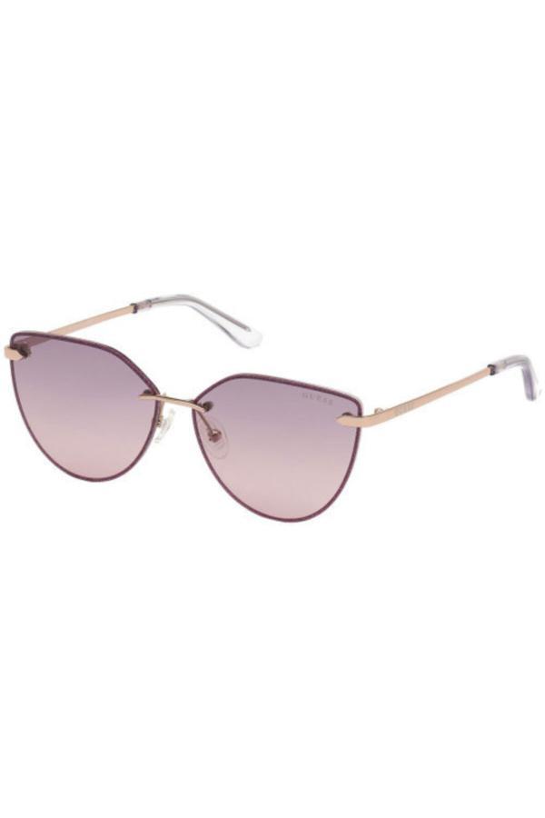 خرید نقدی عینک آفتابی پاییزی زنانه برند Guess رنگ بنفش کد ty52583539