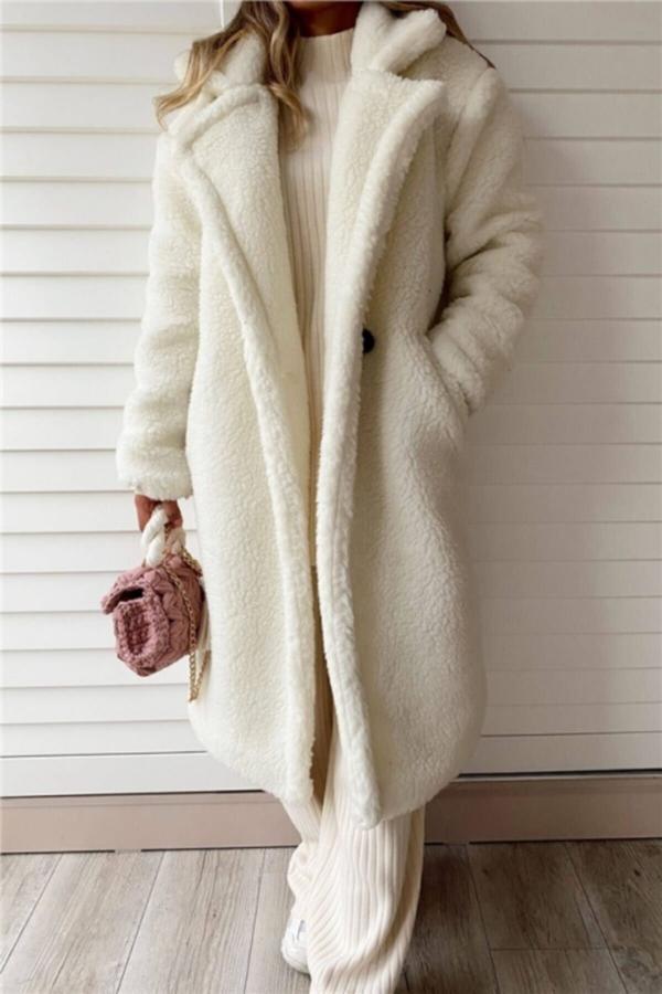 خرید انلاین پالتو جدید زنانه شیک برند ENAMORE رنگ بژ کد ty52594152