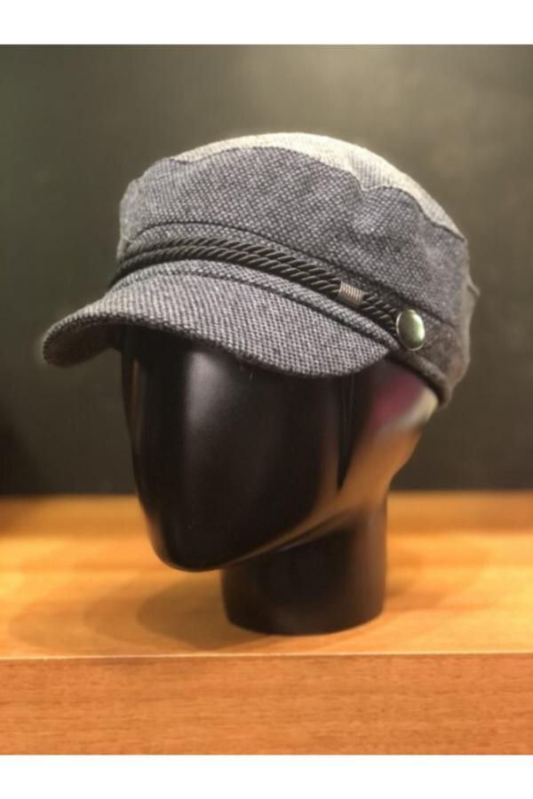 کلاه زنانه طرح دار برند Mamasorbatti رنگ نقره ای کد ty52594208