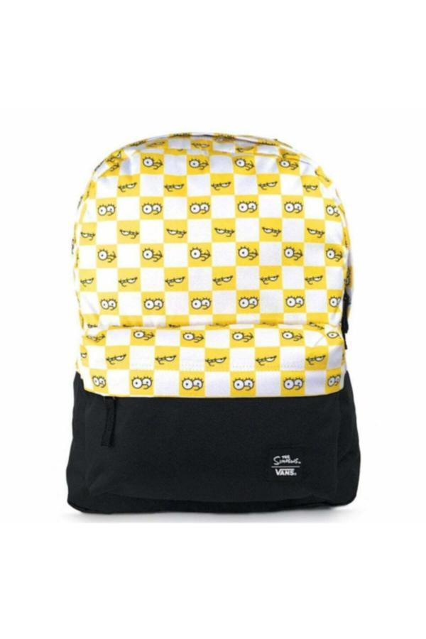 کوله پشتی 2020 مردانه برند Vans رنگ زرد ty52597109