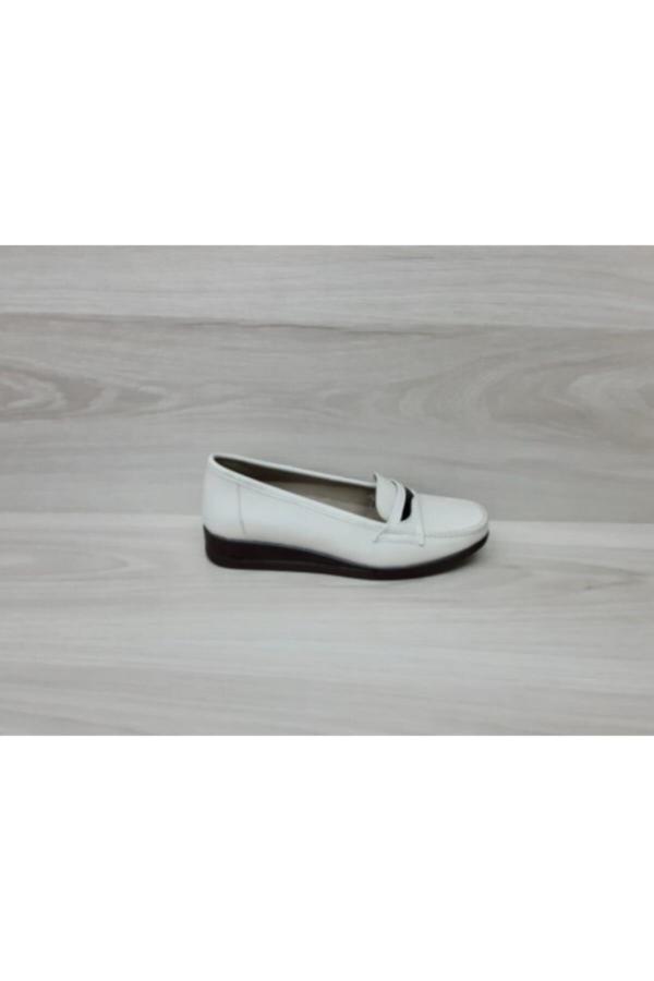 ژورنال کفش تخت دخترانه برند Norfix رنگ بژ کد ty52635091
