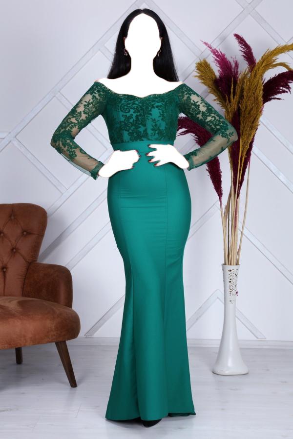 خرید انلاین لباس مجلسی زنانه خاص برند Matik Abiyem رنگ سبز کد ty52646865