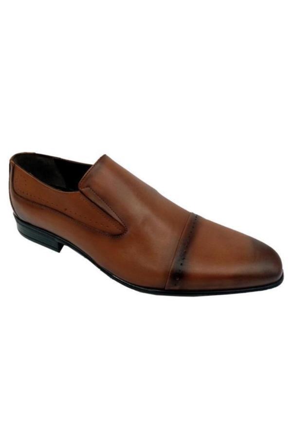 کفش کلاسیک شیک مردانه برند Doğan رنگ قهوه ای کد ty52648888