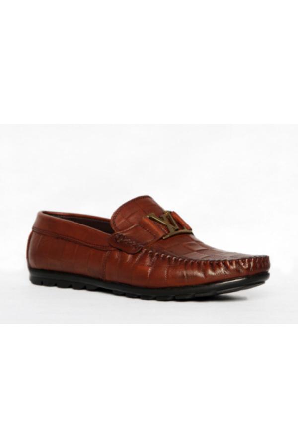 خرید اینترنتی کفش کلاسیک مردانه از استانبول برند ALMİRA AYAKKABI VE ÇANTA رنگ قهوه ای کد ty52652965