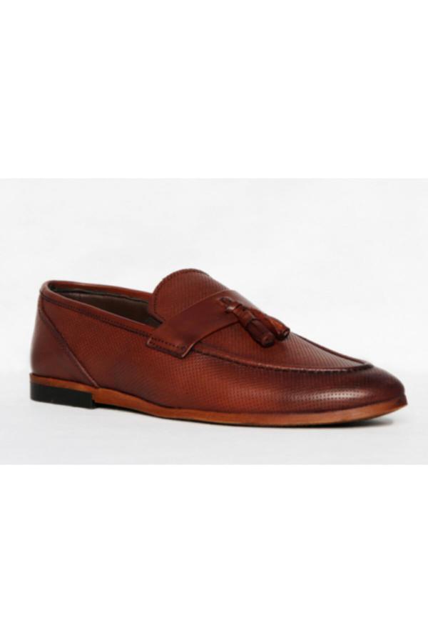 ست کفش کلاسیک مردانه برند ALMİRA AYAKKABI VE ÇANTA رنگ قهوه ای کد ty52653374