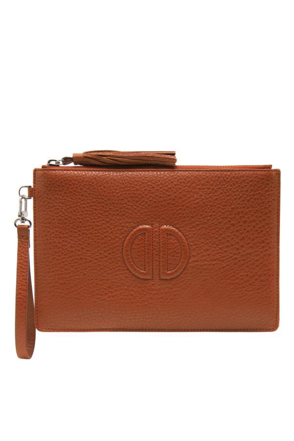 کیف دستی زنانه اصل و جدید برند Desa رنگ قهوه ای کد ty52654220