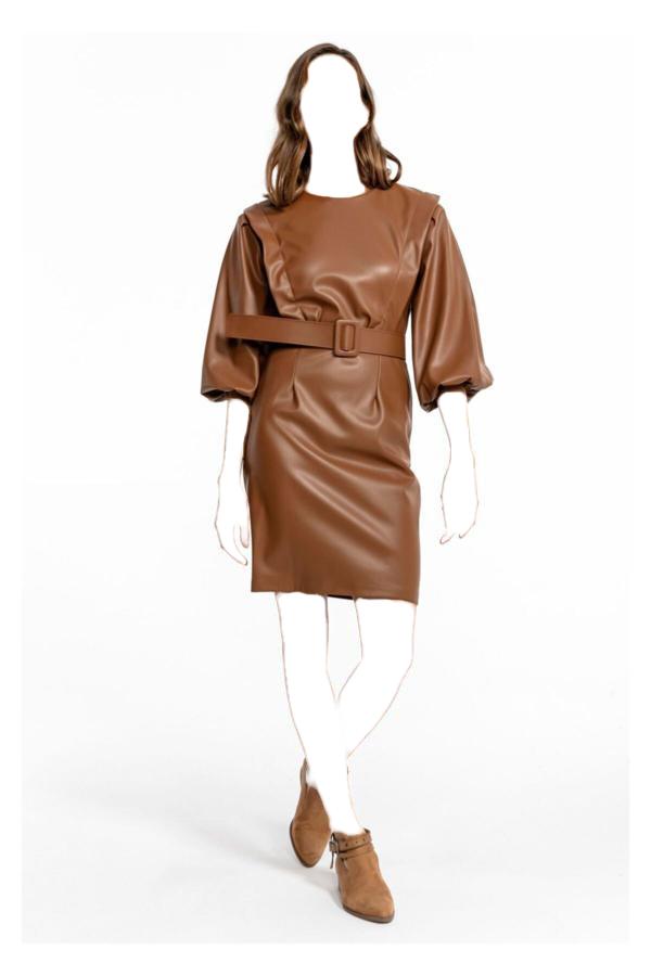 مدل پیراهن 2020 برند TIFFANY&TOMATO رنگ قهوه ای کد ty52657032