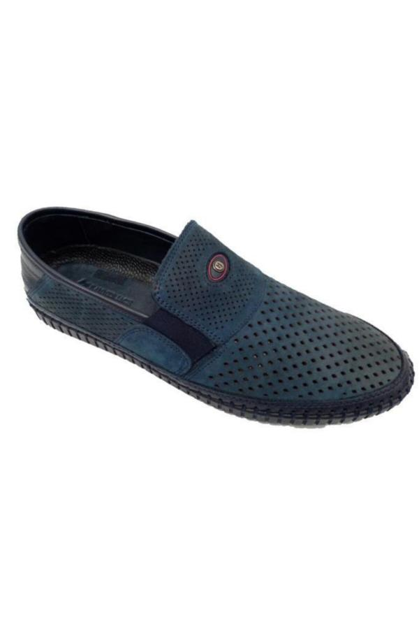 ست کفش کلاسیک مردانه برند هامر جک رنگ آبی کد ty52660587
