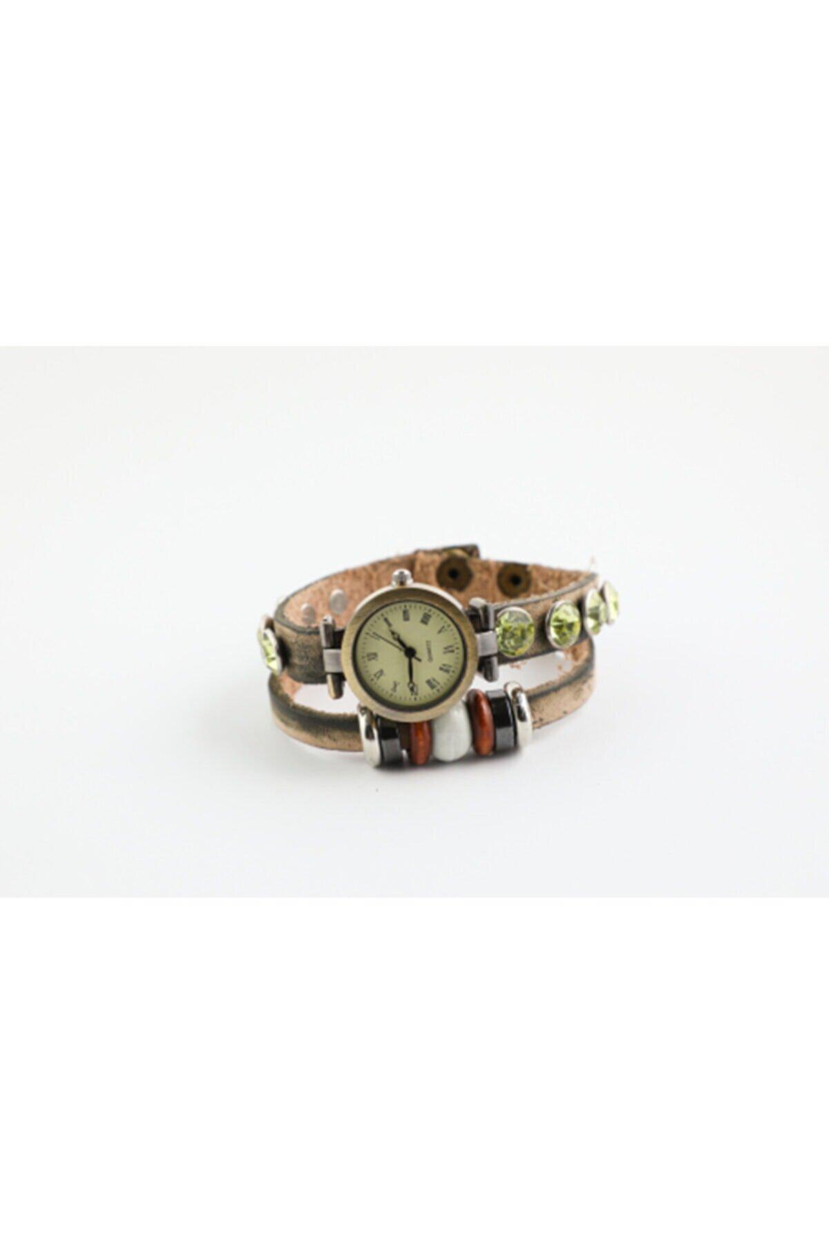 خرید اسان ساعت زنانه زیبا برند Still Aksesuar رنگ سبز کد ty52661647