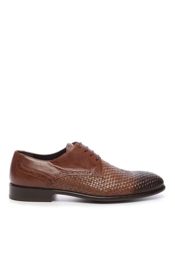 سفارش کفش کلاسیک مردانه ارزان برند کمال تانجا رنگ قهوه ای کد ty52683326