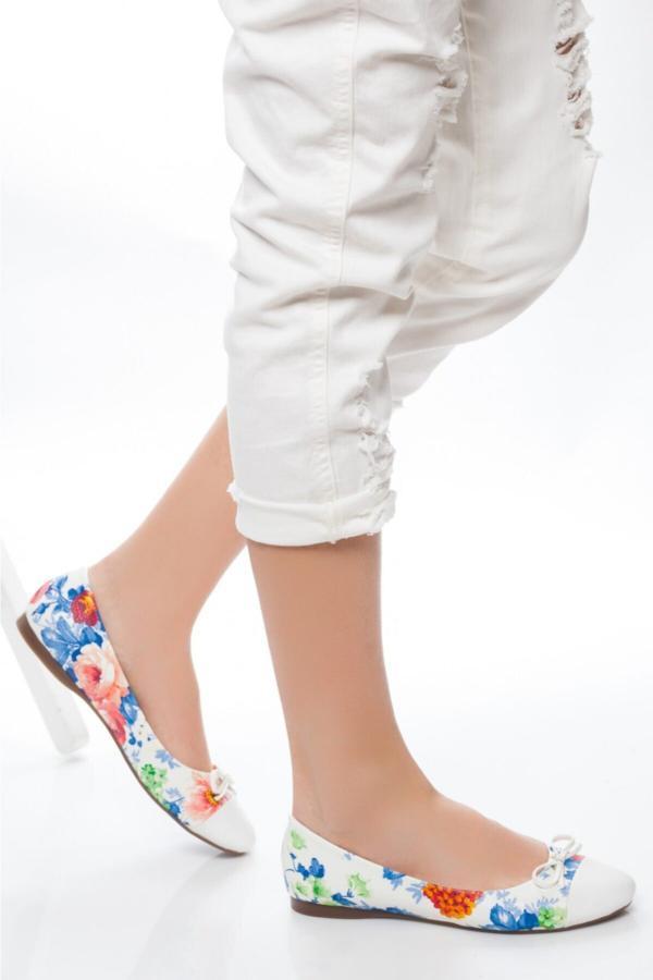 فروش کفش تخت دخترانه ترک مجلسی برند kendimarkan کد ty52683942
