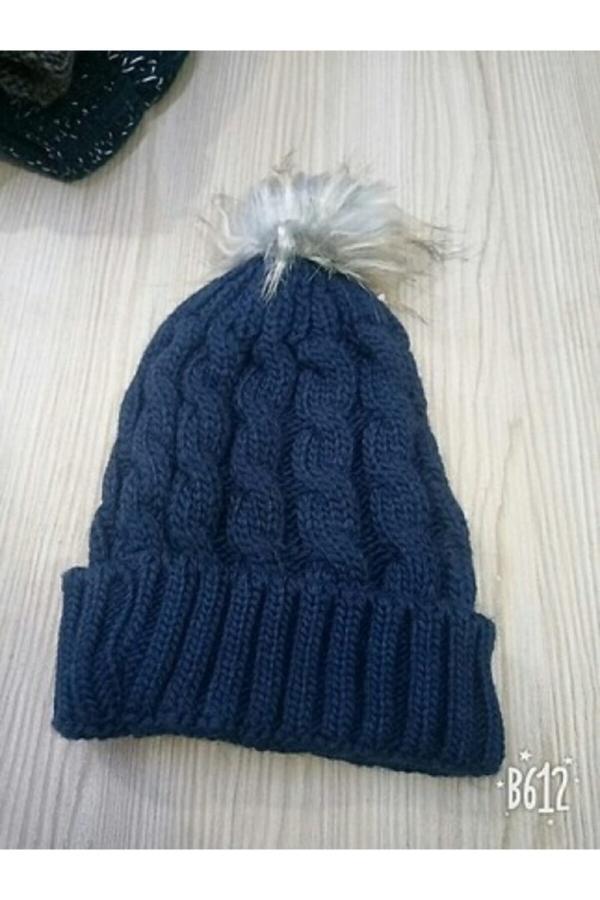 خرید پستی کلاه زنانه پارچه  برند Modanimo رنگ لاجوردی کد ty52684588