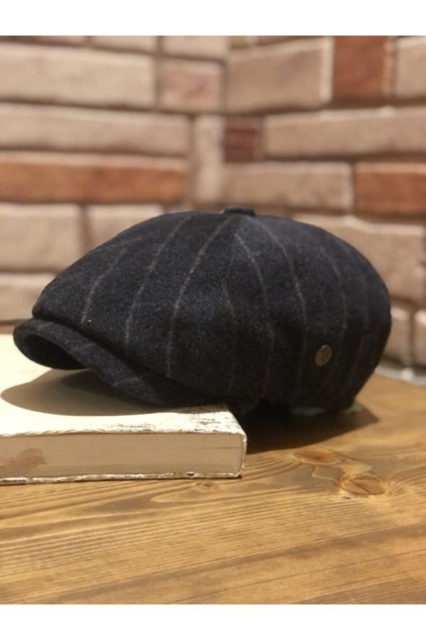 کلاه مردانه ترکیه برند Mamasorbatti رنگ مشکی کد ty52685047