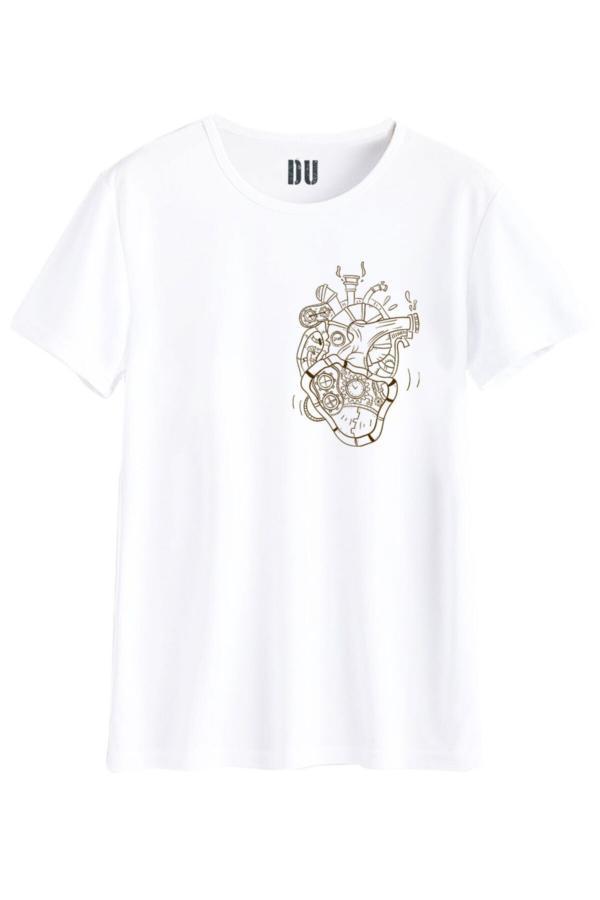 فروشگاه تی شرت مردانه تابستانی برند DU رنگ مشکی کد ty52686934