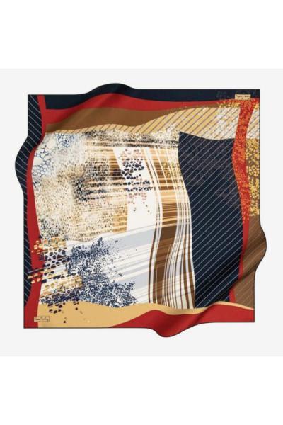 فروشگاه روسری زنانه سال ۹۹ برند پیرکاردین رنگ قهوه ای کد ty52687601