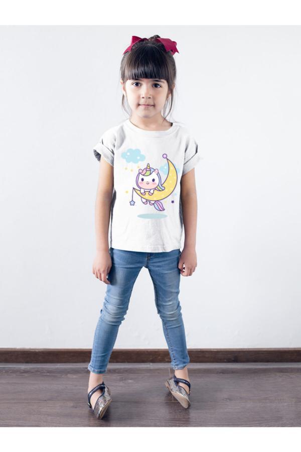 تیشرت زنانه طرح دار برند DU رنگ مشکی کد ty52687767