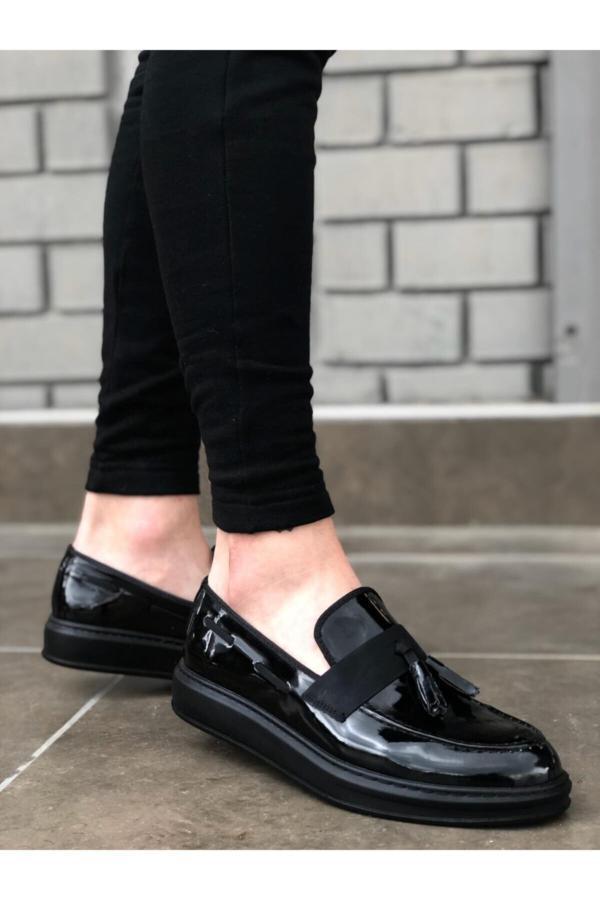 خرید انلاین کفش کلاسیک جدید مردانه شیک برند BOA رنگ مشکی کد ty52688226
